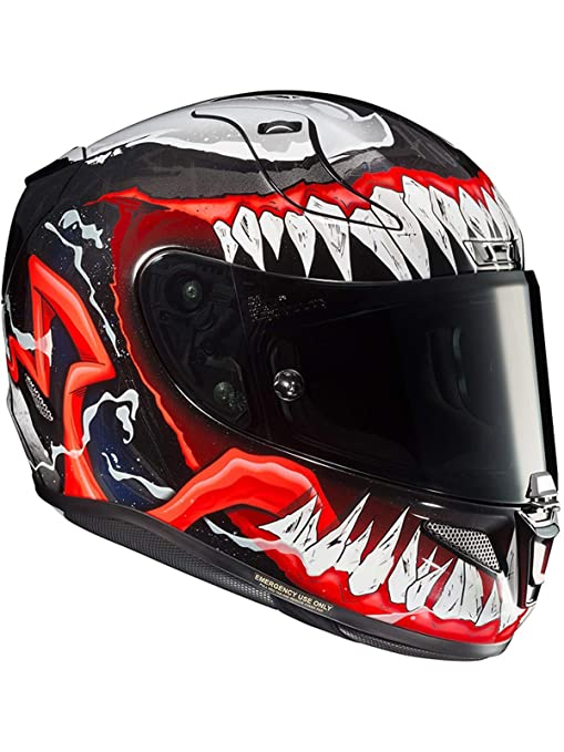 Amazon.es: Casco Moto Hjc Rpha 11 Venom 2 Mc1 Rojo (S, Rojo)
