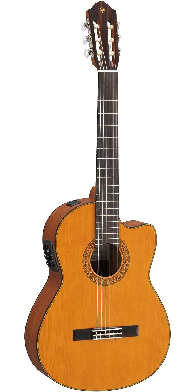 Yamaha cgx122mcc acústica eléctrica guitarra clásica con Solid tapa de pícea: Amazon.es: Instrumentos musicales
