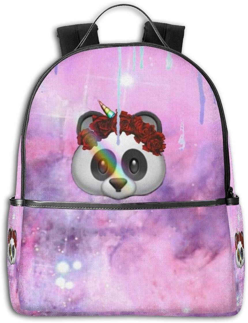 Unicorn Panda Pink Bear Side Themed Casual Shoulders Backpack Travel Mini Bookbag Book Back School Bag For Girls Boy Women Men Merchandise