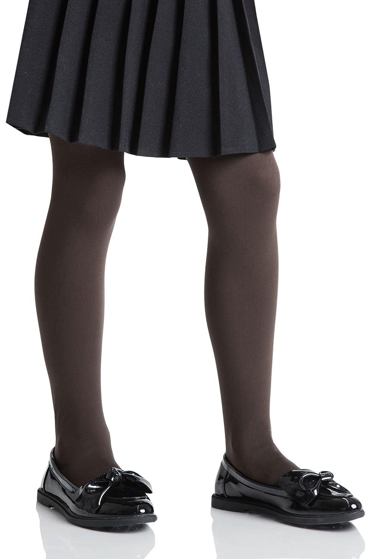 3 Pack Girls Teens School Black 70 Denier Machine Washable Opaque Tights Age 13-16 Years