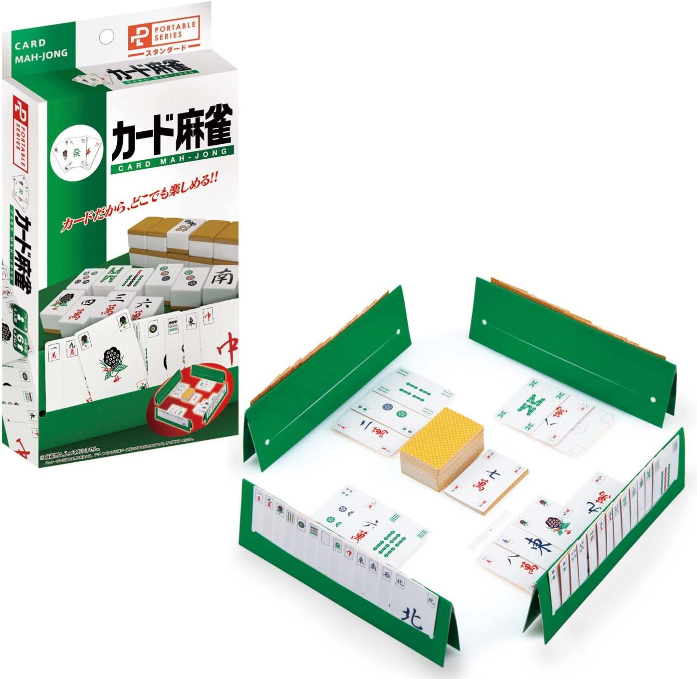 Portable Mahjong Card (NEW) (japan import) by Hanayama