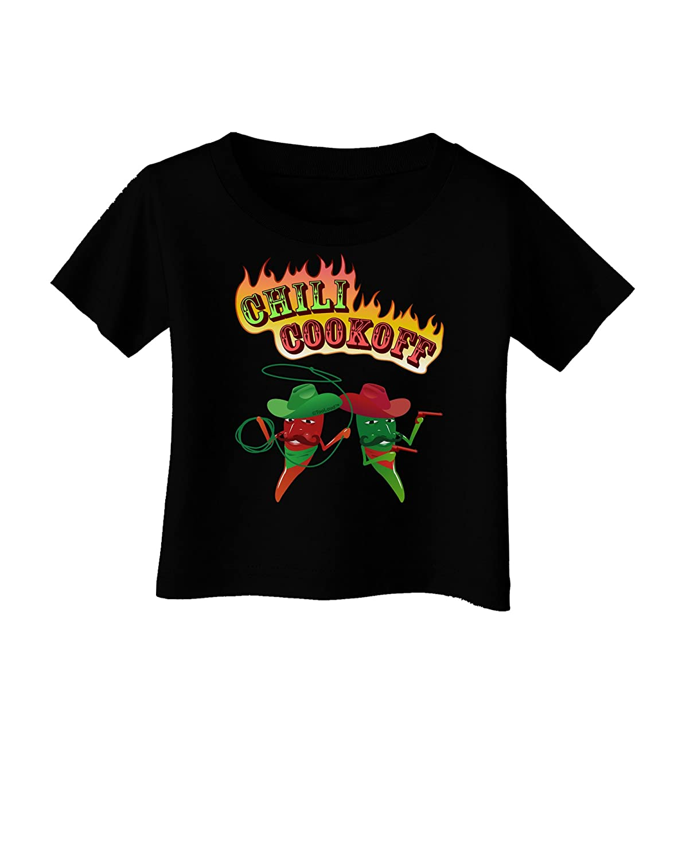 TooLoud Cowboy Chili Cookoff Infant T-Shirt Dark