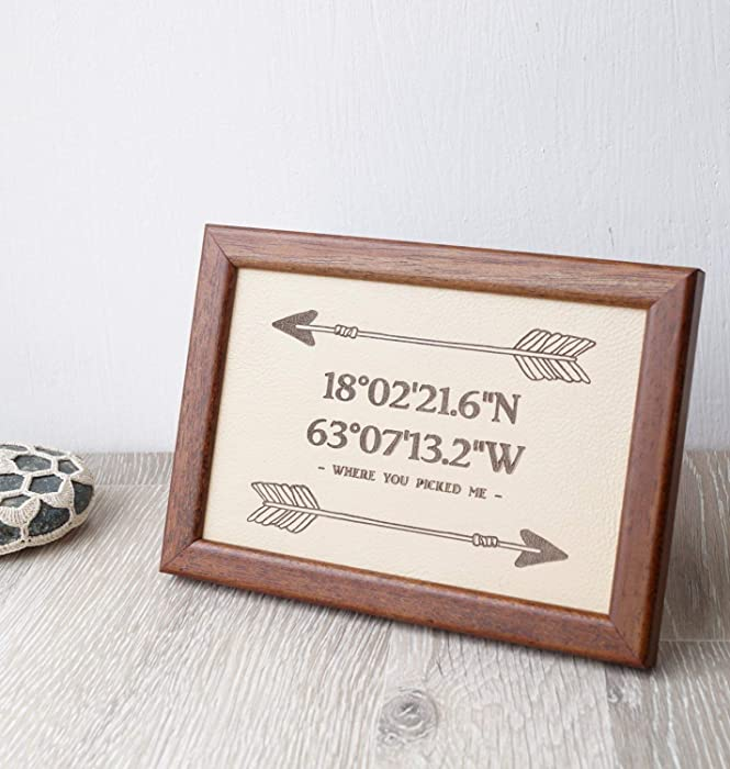 The Best Engraved Home Gps Coordinate Decor