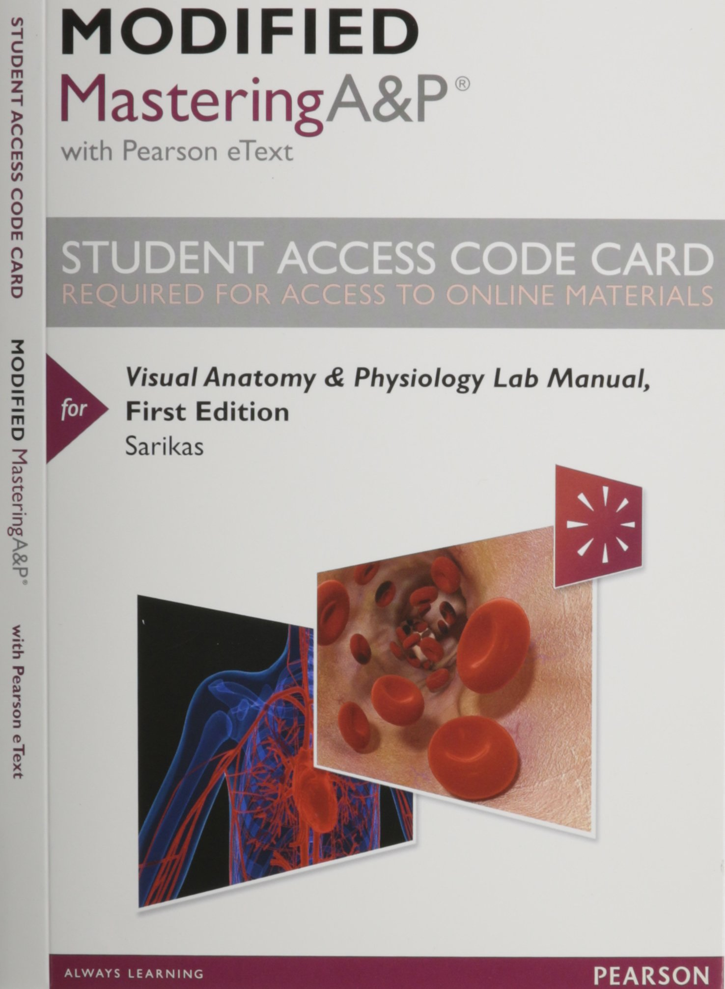Buy Visual Anatomy & Physiology Modified MasteringA&P With Pearson ...