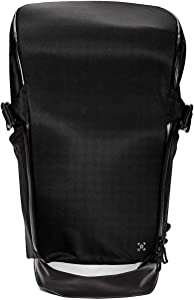 """Lululemon Men's More Miles Backpack 25.5L BLK Black Can accommodate 17"""" laptop - Sturdy & Water-repellent - Heavy Duty"""