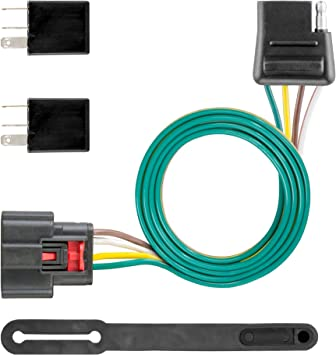 Amazon.com: CURT 56375 Vehicle-Side Custom 4-Pin Trailer Wiring Harness,  Select Chevrolet Equinox: Automotive   2015 Chevy Equinox Wiring Harness For Trailer      Amazon.com