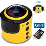 JoyPlus 360 Degree Spherical Panorama VR Camera with 16GB Micro SD Card, App and Mount Adapter