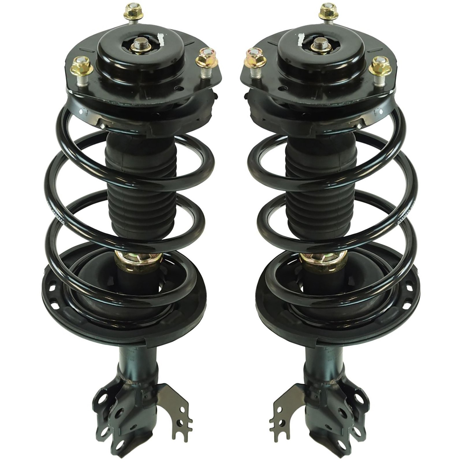 Loaded Quick Complete Strut Spring Mount Assembly LH RH Pair 2pc Front for Toyota Camry