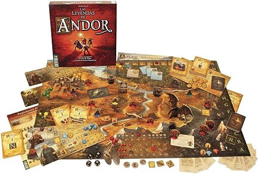 Devir - Las Leyendas de Andor (BGANDOR): Amazon.es: Juguetes y juegos