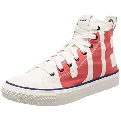 Diesel Men's S-astico Mc-Sneaker Mid: Shoes