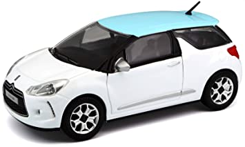 Bburago - 22122bl - Vehículos en Miniatura - Modelo para la Escala - Citroën DS3 - Escala 1/24