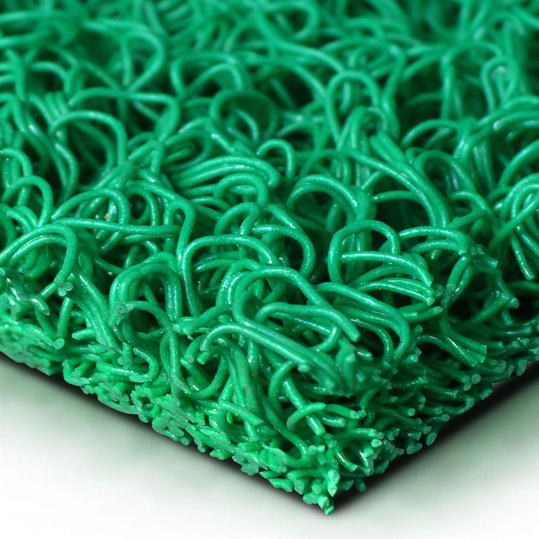 Grigio Tappeti da Esterno Gomma 120x200 cm Drenanti e Igienici in 7 Colori e 3 Misure Zerbino Ingresso Esterno Zerbino PVC Ricciolo