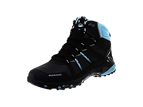 fdd71b2e76ee Mammut Women s s T Aenergy Mid GTX High Rise Hiking Shoes Black-Whisper  00089 ...