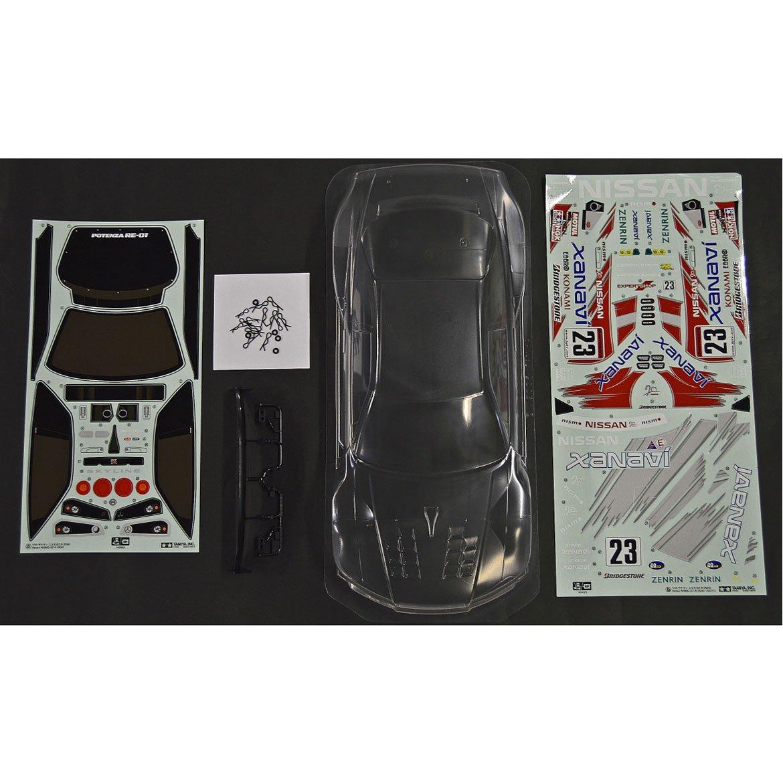 TAMIYA 300051041 - Karosserie Satz Xanavi Nismo GT-R JGTC