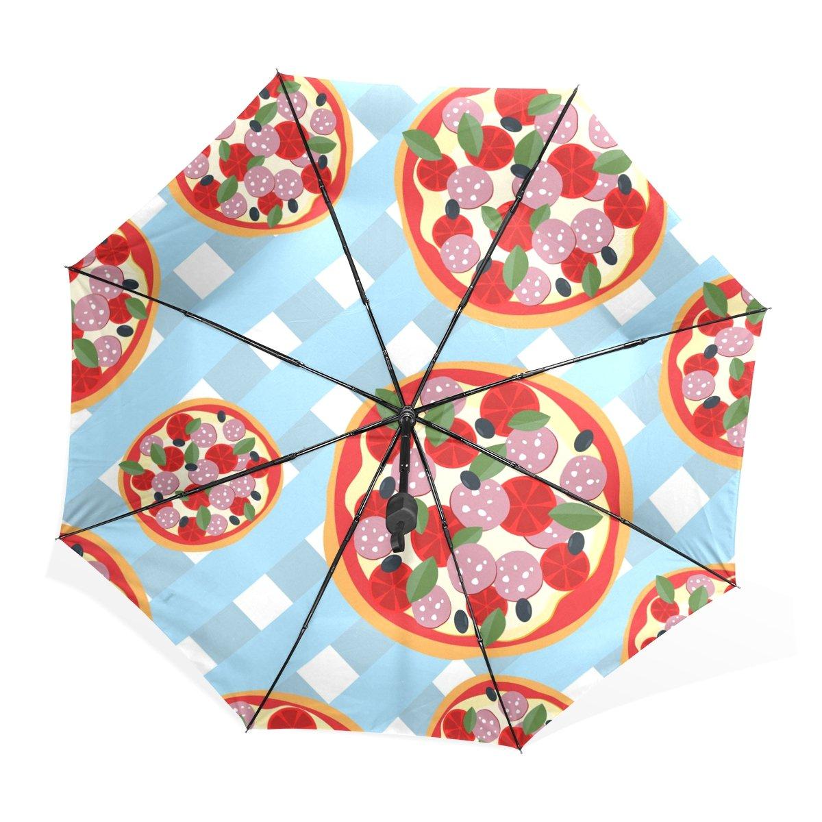 Amazon.com: BAIHUISHOP 3 Folding with Chocolate Pattern UV Umbrella,Ultralight Folding Compact Sun/Rain Umbrella UPF 50+ UV Protected Parasol: Sports & ...