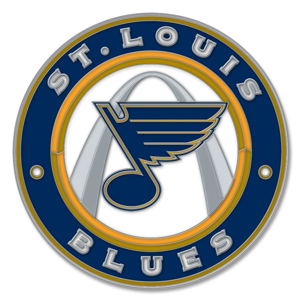Louis Blues 65305081 Collector Pin Jewelry Card WinCraft NHL St