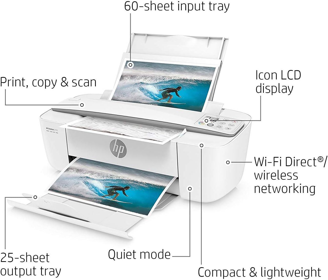 Amazon.com: Impresora compacta multifunción HP ...