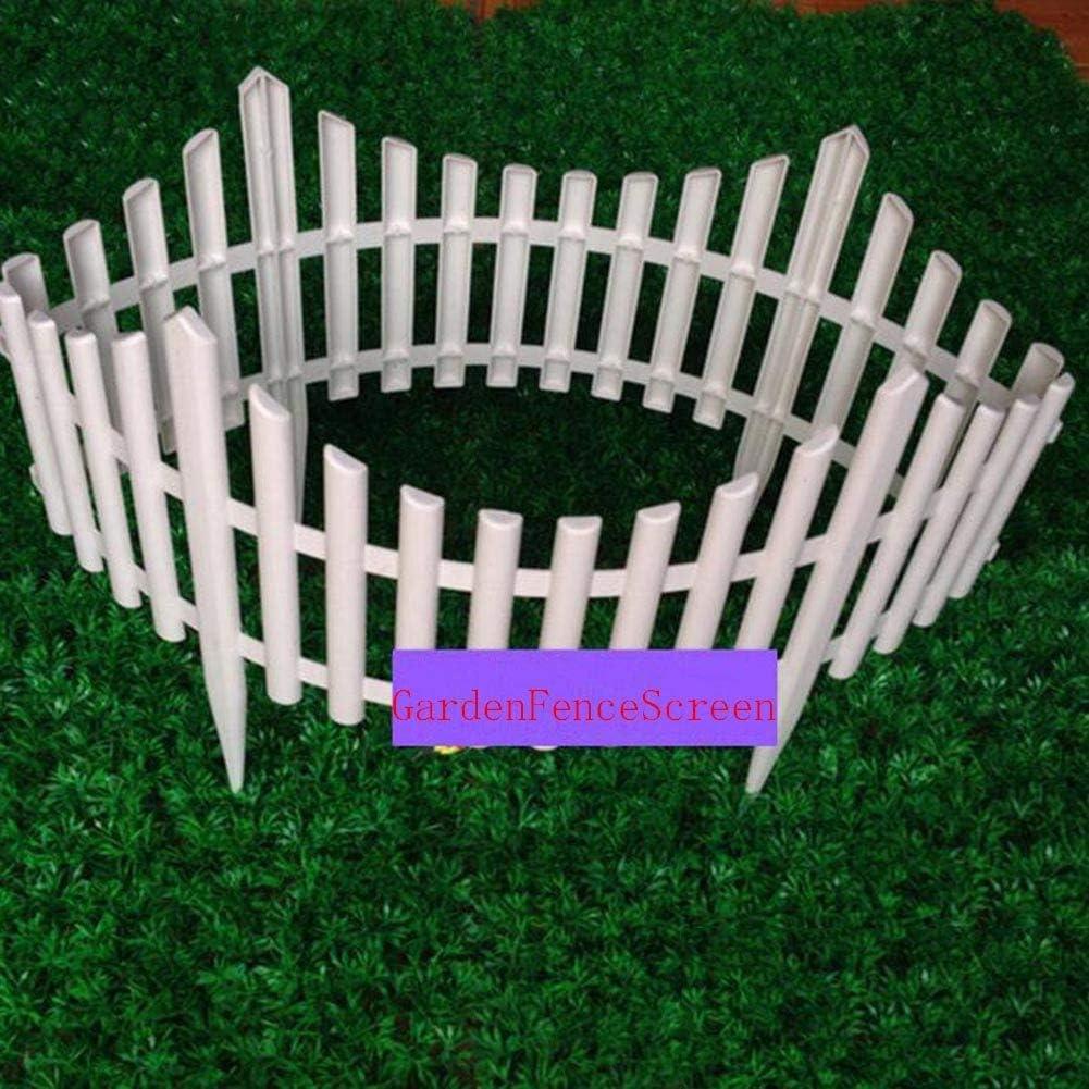 YINUO Cercos Jardín Poste de la Cerca de la Pantalla Animal Barrera de barandas Niño Plug-in Environmental Protection Durable Estable Artesanal Patio (Color : 4pcs, Size : 80x52cm): Amazon.es: Hogar
