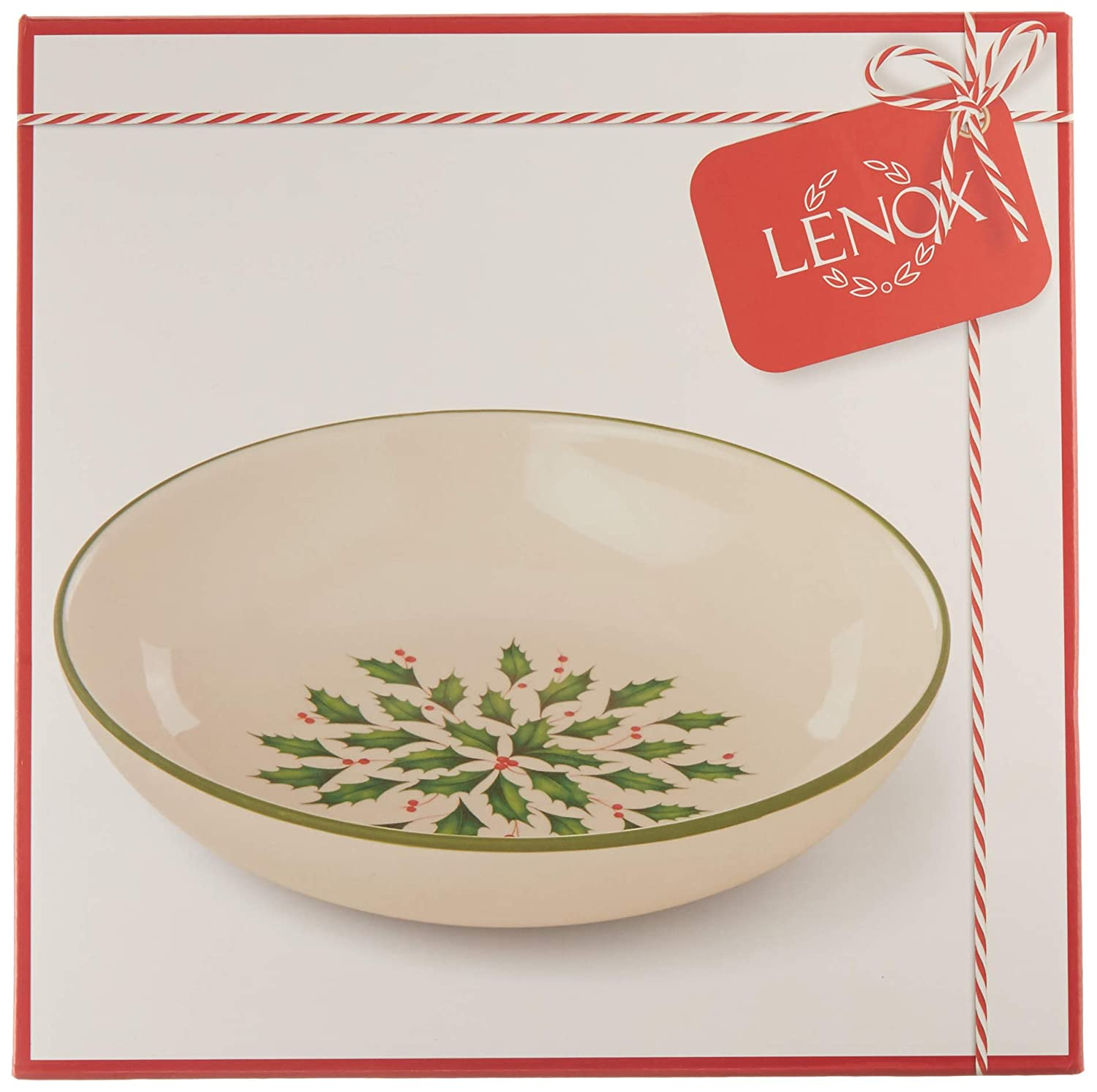 Lenox 879295 Holiday Accent Plate Multicolor