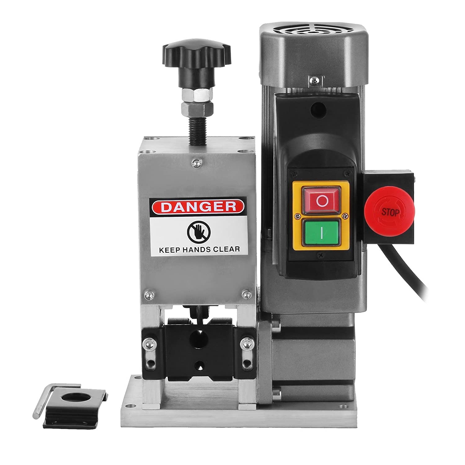 Happybuy Cable Wire Stripping Machine Φ3mm~ 25mmΦ Wire Stripping ...