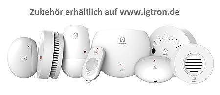 lgtron GSM Radio Alarma lgd8003 con 868 MHz Radio de ...