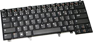 Dell 8G017 New French Canadian Clavier Genuine OEM Latitude E6220 E6230 E6320 E6330 E5420 E5430 E6420 E6430 E6440 Laptop Keyboard PK130FN1E09 NSK-DV2UC QWERTY