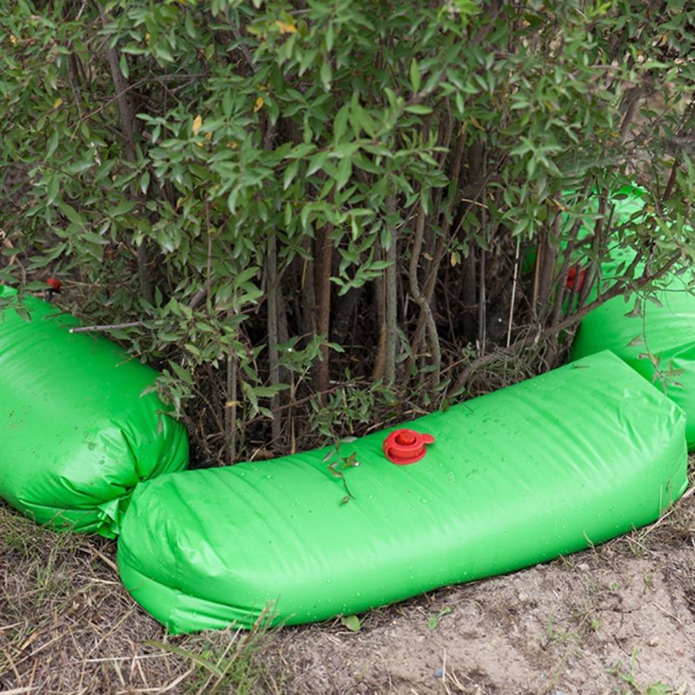 Baum-Bew/ässerungstasche,10kg Tropfenf/änger System Justierbarer Baumbew/ässerungsbeutel Langsamfreisetzende PVC Watering Bag,Landwirtschaftliches Bew/ässerungswerkzeug