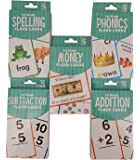 1st Grade Flash Cards Set 5 Bundle (Includes Addition, Subtraction, Money and more…)