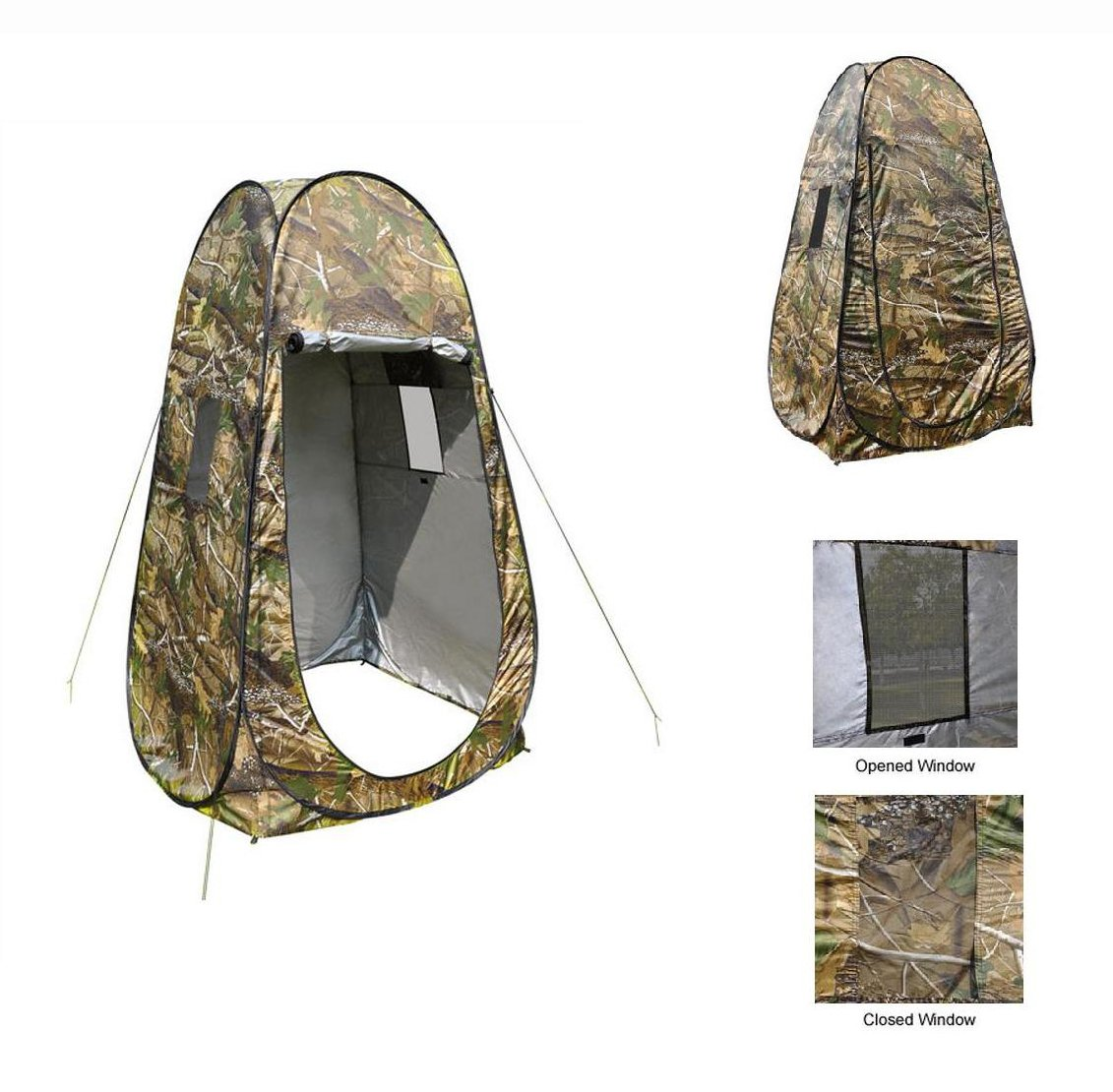 Amazoncom Portable Privacy Shower Toilet Camping Pop Up Tent Dress Room Camouflage Easy Sports Outdoors