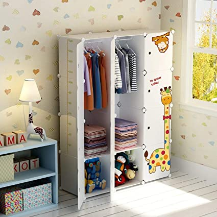 Amazon.com: KOUSI Kids Dresser Kids Closet Portable Closet Wardrobe ...