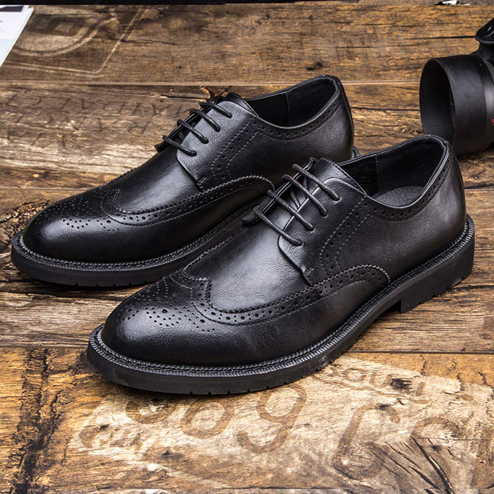 Phil Betty Mens Business Oxford Shoes Round Toe Fashion Comfortable Dress Shoes by Phil Betty (Image #4)