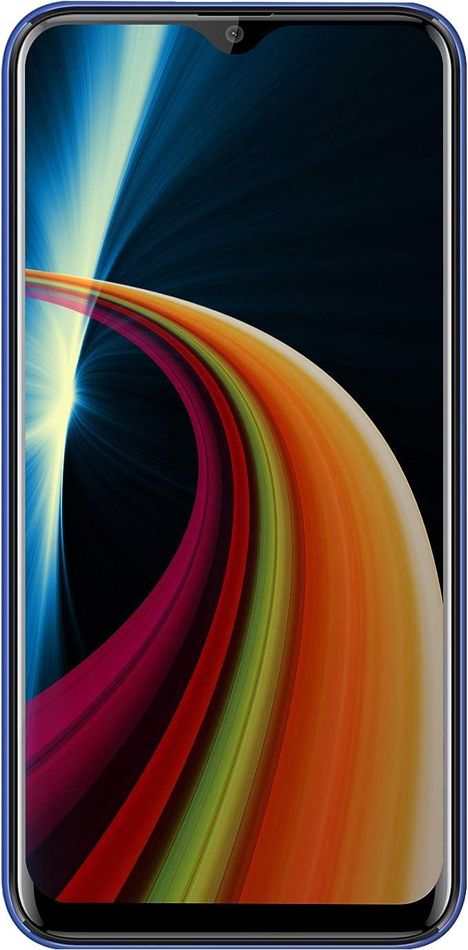 """Image of Moviles Libres Baratos 4G Android 9.0, V·MOBILE M9(2019) 6.3"""" FHD 4GB RAM + 64GB ROM Smartphone Libres Dual SIM, Cámara 12Mp+5Mp Camara Telefono Móvil 4800mAh Moviles baratos y buenos (Púrpura)"""