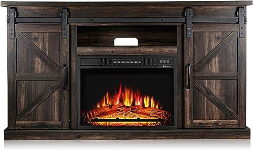 TURBRO Fireside FS58 TV Stand