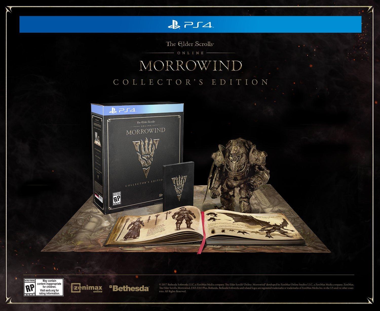The Elder Scrolls Online: Morrowind Collector's Edition -...