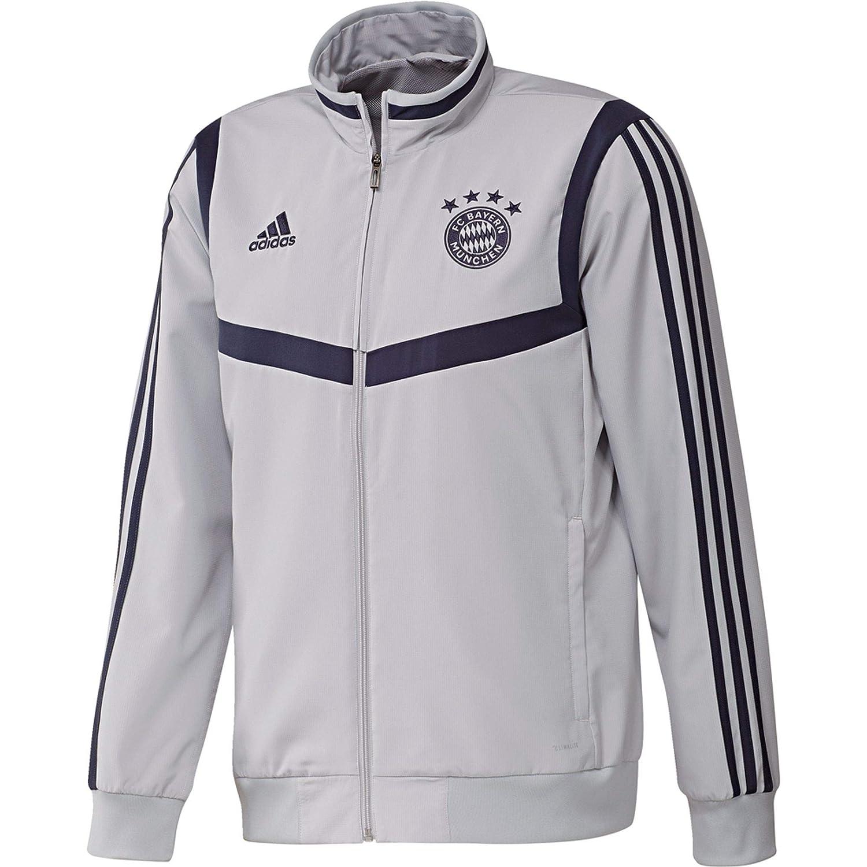adidas FCB Pre Jkt Chaqueta FC Bayern de Munich, Hombre: Amazon.es ...