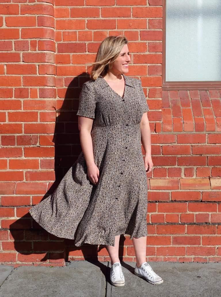 Sizes 04-16 Style Arc Schnittmuster Armidale Kleid
