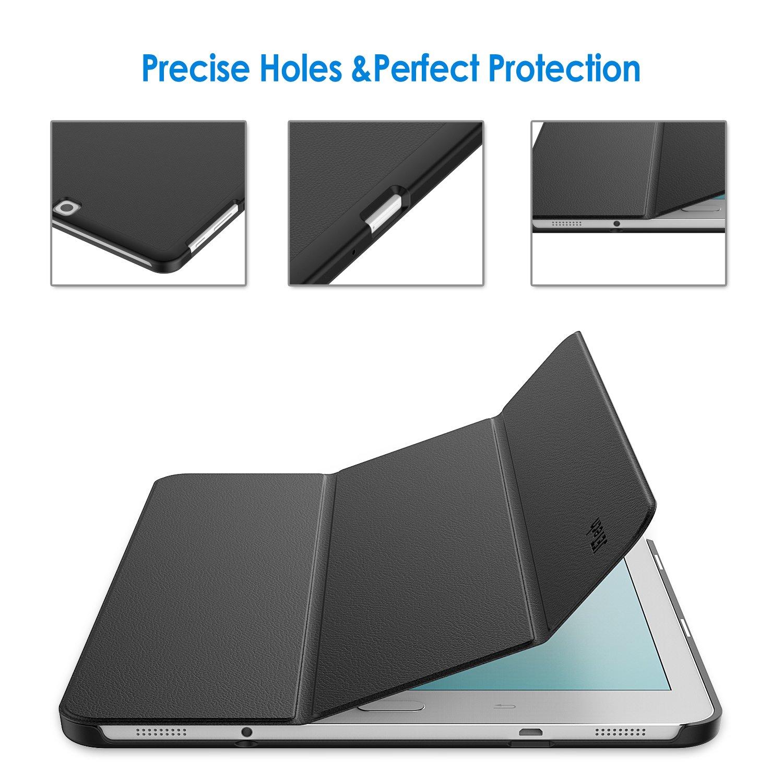 Auto-Sue/ño//Estela Carcasa con Soporte Funci/ón Negro JETech 3320- Funda para Samsung Galaxy Tab S2 9,7