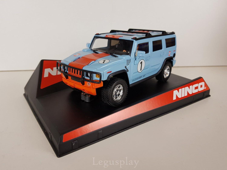 suministramos lo mejor Ninco SCX Scalextric Slot 50489 50489 50489 Hummer H2 Gulf Nº1  ahorra hasta un 70%