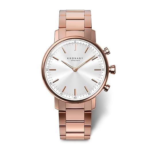 KRONABY Carat A1000-2446 - Reloj Inteligente híbrido para Mujer (Reloj Tradicional con Las