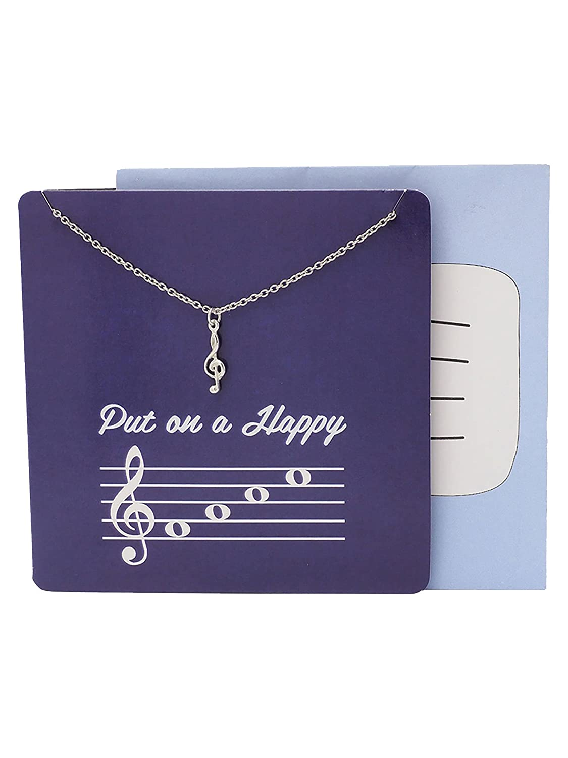 Amazon Teach Love Inspire Music Teacher Best Friend Necklaces For Women Men Jewelry And Birthday Greeting Cards