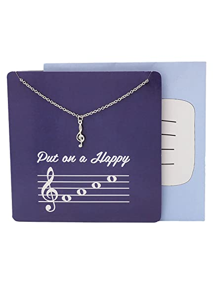 Teach Love Inspire Music Teacher Best Friend Necklaces For Women Men Jewelry And Birthday