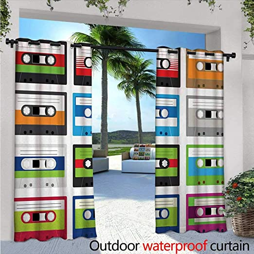 BlountDecor Cortina de privacidad de 88 cumpleaños para pérgola con Globos de Fiesta, diseño artístico, Aislante térmico, Repelente al Agua, para balcón: Amazon.es: Jardín