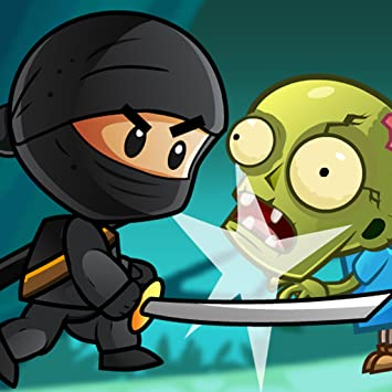 amazon com ninja kid adventure world and group of dumb zombies