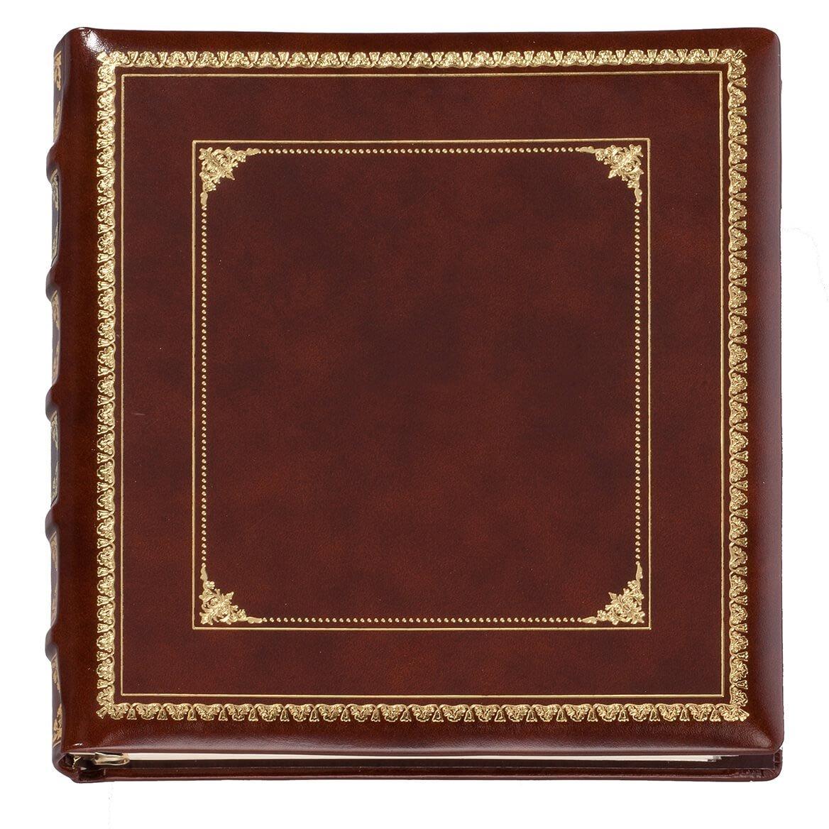 Exposures Library Leather Photo Album
