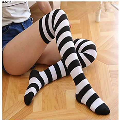 nuova alta qualità moderno ed elegante nella moda pensieri su JJHR calzini Calze da Donna di Moda Calze A Righe da Donna ...