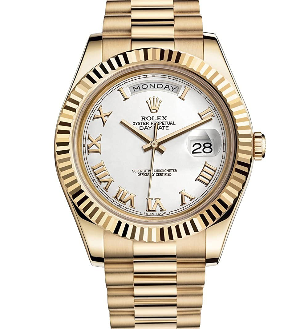 Rolex Day Date Ii 2 President Yellow Gold Watch 218238