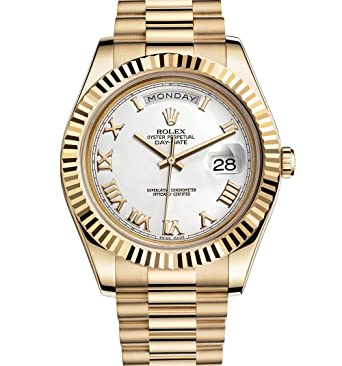 918af42b532 Amazon.com: Rolex Day-Date II 2 President Yellow Gold Watch 218238: Watches