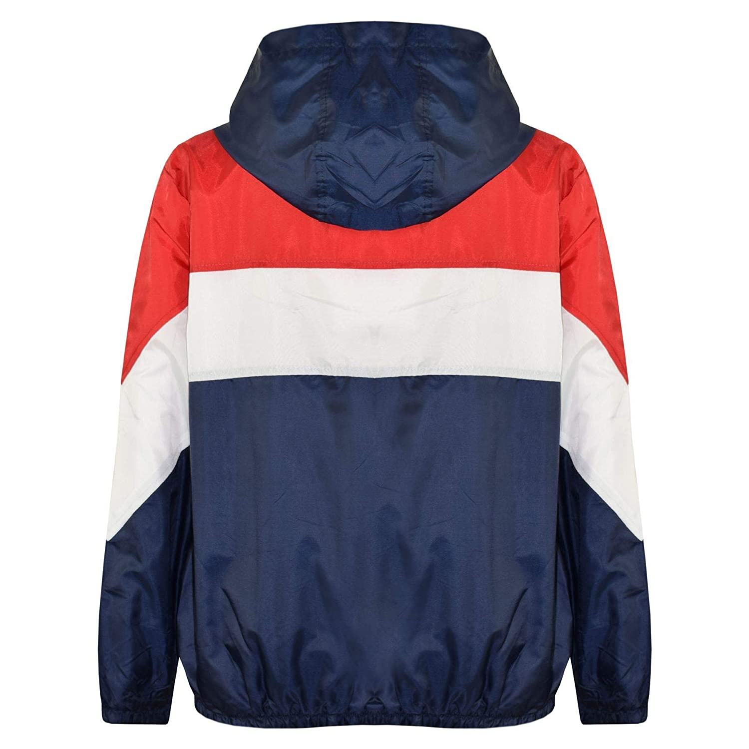 A2Z 4 Kids/® Kids Girls Boys PU Raincoat Jackets Designers Navy Windbreaker Waterproof Cagoule Hooded Rainmac Shower Resistant Coats Age 5 6 7 8 9 10 11 12 13 Years