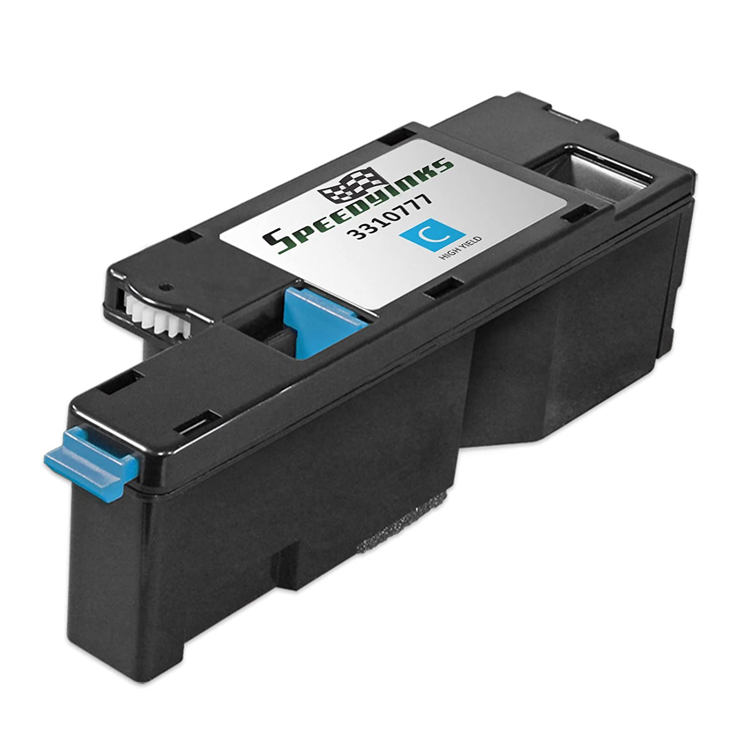 Speedy Inks - Compatible Dell 1250 331-0777 / FYFKF Cyan Toner Cartridge for Dell 1250c, 1350cnw, 1355cn, and 1355cnw Printers