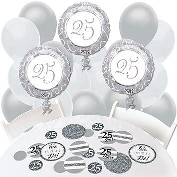 Amazon We Still Do 25th Wedding Anniversary Confetti And